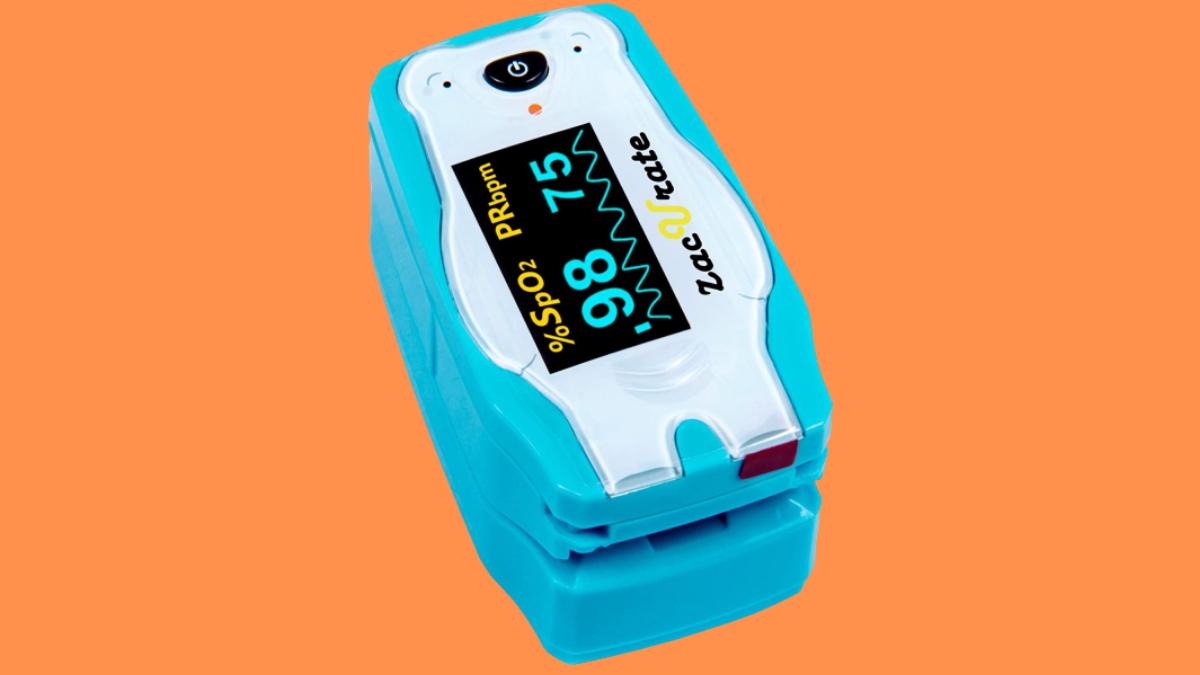 Zacurate 500BL Digital Fingertip Pulse Oximeter for Children