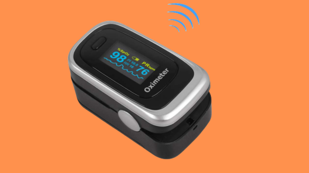 Finger Pulse Oximeter -Blood Oxygen Saturation - Athletic and Aviation Pulse Oximeters, Respiratory Rate, PI, Batteries and Lanyard (Breath Monitor - Random Color)