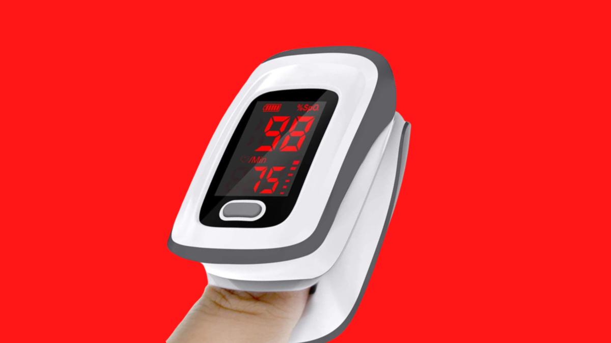 SantaMedical Jumper Fingertip Pulse Oximeter w LED Display