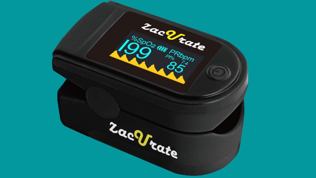 zacurate pro series 500d deluxe fingertip pulse oximeter